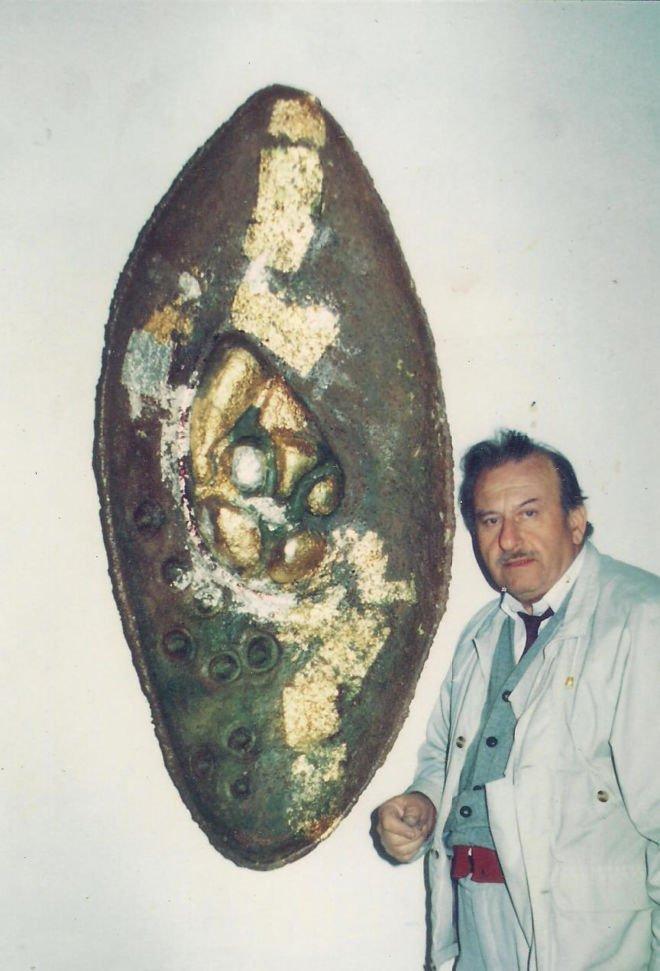 Gabriel Crauana Oval Ceramic 1990