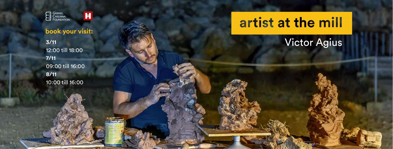 Artist At The Mill – Victor Agius